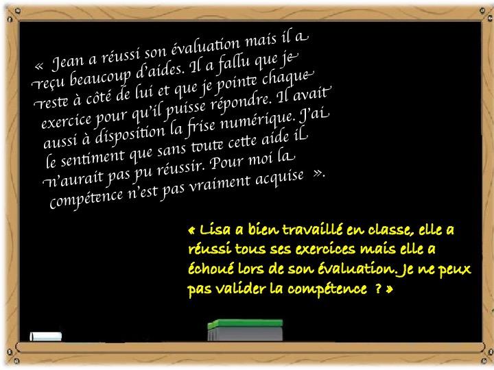 «Evaluation sans valeurs n'est que ruine de l'homme» Hervé Benoit