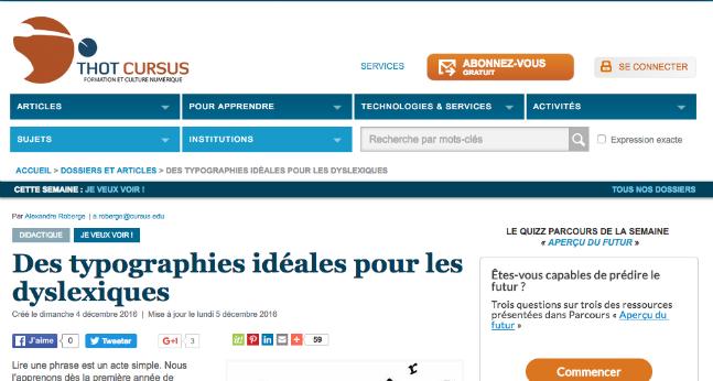 thotcursus
