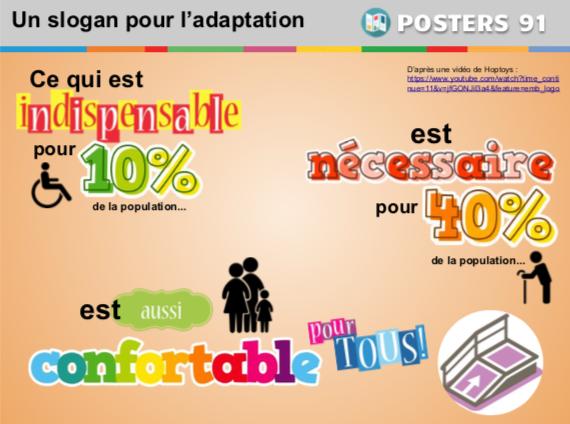 Des posters informatifs pour l'école inclusive et autres ressources